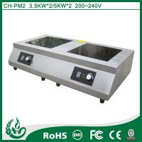 China Double features Double Hob with 5kw*2 wholesale