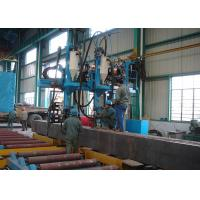 Quality Steel Structure Manufacturing Equipment Box Beam Production Line for sale