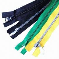 China Nylon Resin Zipper or Zips, OEM and ODM Orders are Accepted wholesale