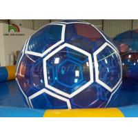 China 1.0 mm Transparent PVC / PTU Inflatable Soccer Ball Blow Up Walking On Water Ball wholesale
