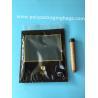 China Custom LOGO fashion cigarette zipper lock moisturizing fresh plastic bag with transparent windows wholesale
