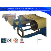 Buy cheap 4KW 380v 50Hz Slitting Line Machine Metal Rollforming Systems , 0.4-0.8mm from wholesalers