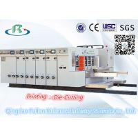 China Multicolors Flexo Printing and Slotting and Die-Cutting Machine High Speed wholesale
