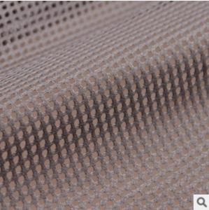 China Fashion classic large mesh warp knit fabric dyeing spot wholesale large mesh cloth wholesale