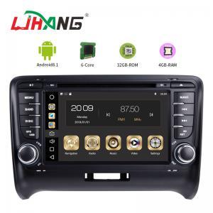 China Steering Wheel Control Audi In Car Dvd Player , Audi TT Car Dvd Player Gps Navigation wholesale