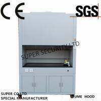 China Cold-roll Steel Chemical Fume Hood  Glass Window Electrical Controlled Glass wholesale