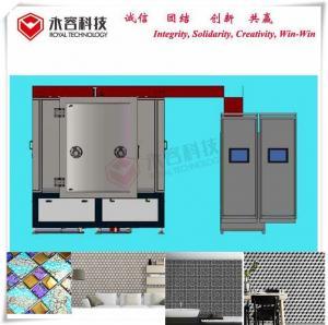 China ISO TiN Coating Equipment 3d Mosaic Bathroom Self Adhesive Wall Tile Stickers wholesale