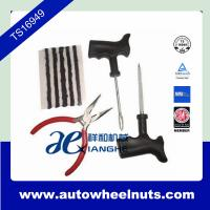 China Emergency Tubeless Tire Repair Kit / Car Tyre Repair Tool Kit / Tire Repair Tool Kits wholesale