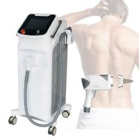 China Hair Removal Laser Beauty Machine 808 High Power 2 Spot Size In 1 Handpiece wholesale