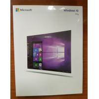China 100% Genuine Microsoft Windows 10 Operating System Windows 10 Pro Retail Box wholesale