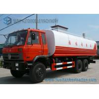 China Dongfeng 3 Axles 20000 L -23000 L Water Tank Truck With 6 x 4 Drive 210 hp wholesale