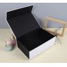 China Black Luxury Paper Gift Box Custom Printed Stationery Boxes wholesale