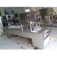 China Automatic Tray Vacuum Gas Filling And Sealing Machine on sale