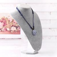 China 2015 hot Linen custom design Bust Necklace Jewelry Display Stand high quality wholesale