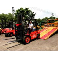China 3-6 Meters Lifting Internal Combustion Forklift For Paper Roll Handling on sale