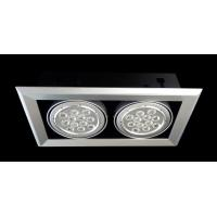 China DC Working 28W 2000 - 2300 lm, 1M 710lux 315 * 155mm 2 Groups Optics Acrylic LED Bean Lamp wholesale