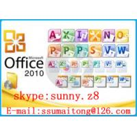 China Office Product Key Office 2010 Professional Product Key Code Online Activation on sale