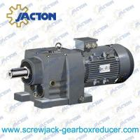 China R27 RF27 Inline Helical Gearbox 0.25kw, 0.37kw, 0.55kw, 0.75kw, 1.1kw, 1.5kw, 2.2kw, 3kw on sale