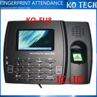China Biometric Optical Fingerprint Reader Time Attendance System FU8 wholesale