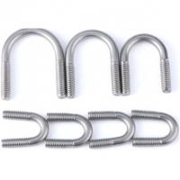 China Pipe Threaded U Bolt For 6 Inch Lift Corrosion Resistance DIN 3570 wholesale