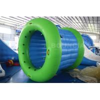 China 0.9mm PVC Tarpaulin Inflatable Water Walking Roller Ball With Durable Net Structure wholesale