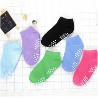 China Colorful Ladies Non Slip Socks Knitted Thickness Standard For Yoga / Pilates / Ballet wholesale