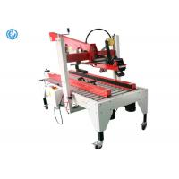 Buy cheap Semi Automatic Box Label Applicator Carboard Box Forming Packaging from wholesalers