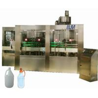 China PET / HDPE / GLASS Bottle Automatic Liquid Filling Machine For Edible Oil / Soy Sauce wholesale