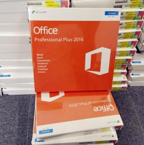 China Computer Hardware Software Office 2016 PRO Plus Key Online on sale