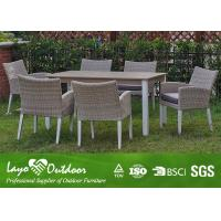 China ISO9001 Approvaled Factory Patio Furniture Dining Sets Modern Design Extension Table Set wholesale