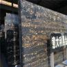 China Portoro Gold Marble Stone Slab , Italian Marble Slab CE Certification wholesale