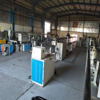 China Low Noise Wire Extrusion Machine , Single Screw UAE Power Cable Extruder Machine wholesale