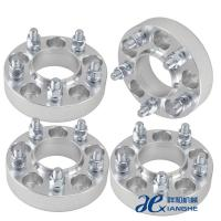 China 6061-T6 Aluminum 6x5.5 Custom Wheel Adapters 14x1.5 Studs ,Thickness 10mm / 12mm wholesale