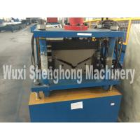 China Corrugated Roof Ridge Cap Roll Forming Machine Industrial GCr15 Roller wholesale