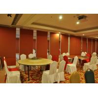 China Bare Finish Folding Partition Walls , Acoustic Movable Partition For  Wedding Facility wholesale