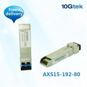 China SFP+ 10GBase-ZR 1550nm 80KM (SFP-10G-ZR) wholesale