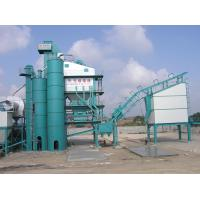 China Road Building Machines Asphalt Batching Plant With 30T Container Type Diesel And Bitumen Tank wholesale