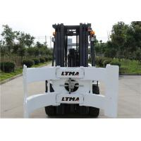 China 2.5 Ton 3 Ton Paper Roll Clamp Truck Forklift , Diesel Straight Mast Forklift wholesale
