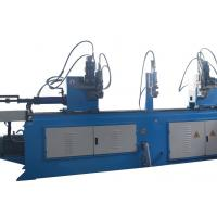 China Double Head Large Pipe Bending Machine Electric Auto Feeding High Precision wholesale