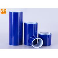China Anti Scratch Plastic Sheet Protective Film / Blue Temporary Glass Protection Film wholesale