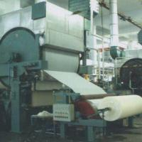 China Tissue Paper Production Line/One Pulp Making Line, Uses Waste Water and Wood Pulp Materials wholesale
