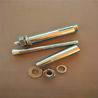 China Powers Concrete Fasteners Hex Bolt Sleeve Anchors Length 60-120mm Multiple Applications wholesale