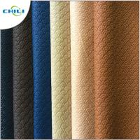 China Waterproof PVC Leather Fabric , PVC Synthetic Leather Chili Brand Reliable wholesale