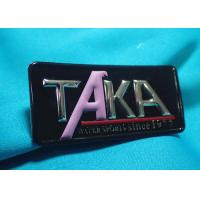 High-Frequency Patch With Embossed Logo , Customized 3D Effect TPU Heat Transfer Manufactures