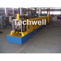 China Wall Plate Structure Cold Roll Forming Machine With 0-15m/Min Forming Speed For Making Top Hat Channel wholesale