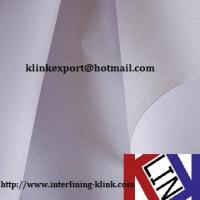 China Shirt Collar Lining Micro dot HDPE Coated--KLC252 on sale
