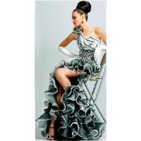 China White & Black Evening Dresses wholesale
