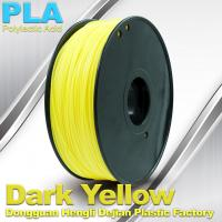 Quality Diameter 1.75mm / 3.0mm 1.0KG / roll PLA Filament For 3F Printer In Stock for sale