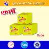 China Qwok 4g*25*80 halal shrimp taste bouillon cube stock cube wholesale