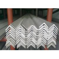 China Hot Rolled Stainless Steel Angle Bar, No.1 Finish Stainless Steel Angle Stock wholesale